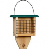 Welliver Outdoors - Paddle Suet Feeder Cedar - Natural/Green - 2.75X9X11