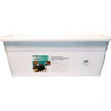 Myers - Deck Rail Box Planter - White - 24 Inch