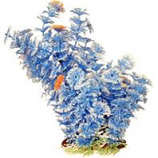 Poppy Pet - Bushy Ambuila Aquarium Plant - Blue - 12  Inch