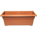 Novelty  - Countryside Patio Planter - Terra Cotta - 27 Inch
