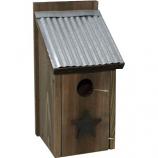 Audubon/Woodlink - Rustic Farmhouse Bluebird House - Natural