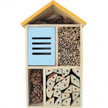 Natures Way - Five Chamber Deluxe Beneficial Insect House - Cedar - 17X10.3X4.4