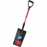 Bully Tool - Edging Planting Spade Fiberglass D Handle -