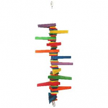 A&E Cage Company - HB Colored Wooden Blocks & Wedges - Multi - Medium