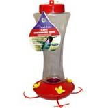 Audubon/Woodlink - Feeder Hummingbird Plastic - Red / Clear - 20 Ounce