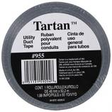 3M - Tartan Utility Duct Tape - Silver - 1.88 In x 55 Yard