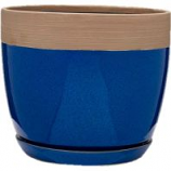 Southern Patio - Clayworks Ana Planter - Navy - 12 Inch
