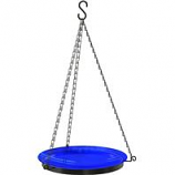 Panacea Products - Hanging Glass Birdbath With Chains - Assorted - 10 Inch