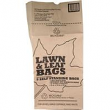 Bunzl Distribution - Lawn And Leaf 5 Pack Of Paper Bag - Display - Brown - 30 Gallon / 12 Piece