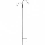 Panacea Products - Double Offset Shepherds Hook - Black - 84 Inch