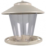 Audubon/Woodlink - Premium Hopper Feeder - Off White/Clear - 4 Pound Cap