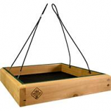 Welliver Outdoors - Platform Feeder Hanging Cedar - Natural/Green -