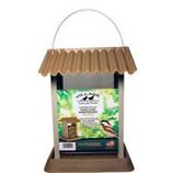 North States Industries - Village Collection Pinecone Bird Feeder - Brown/Silver - 4.25 Pound Cap