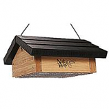 Natures Way - Upside-Down Suet Feeder - Bamboo - 2 Cake Capacity
