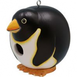 Songbird Essentials - Gordo Penguin Birdhouse - 5.9X7.5X5.9