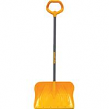 The Ames Company Snow  P - Poly Snow Shovel With Versa Grip - Yellow/Gray - 20 Inch