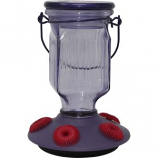 WOODSTREAM HUMMINGBIRD  W - PERKY PET TOP FILL HUMMINGBIRD FEEDER-LAVENDER-16OZ