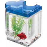 Aqueon Products - Glass - Betta Puzzle Kit - Blue - .5 Gallon