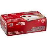 Boss Manufacturing - Disposable 3 Mil Powdered Latex Glove - White - Large 100Ct