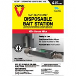 Woodstream Victor Rodnt - Disposable Mouse Bait Station - 4 Pack