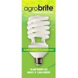Hydrofarm Products - Agrosun Cfl Bulb - 32W/6400K