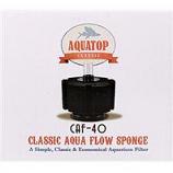 Aquatop Aquatic Supplies - Classic Aqua Flow Sponge Aquarium Filter - Up To 40 Gallon