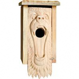 Welliver Outdoors - Welliver Outdoors Bear Carved Bluebird House -