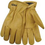 Kinco International - Lined Grain Cowhide Glove - Tan - Extra Large