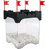 Aqueon Products - Glass - Betta Castle Kit - Black - .5 Gallons