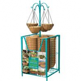 Panacea Products - Hanging Basket Bin Loaded Display - Assorted - 54 Pc