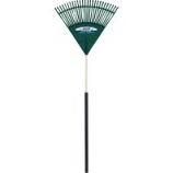The Ames Company - Poly Leaf Rake With Grip - Green - 24 In