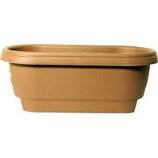 Bloem  - Deck Rail Planter - Chocolate - 24 Inch