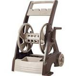 The Ames Company - Neverleak 250 Deluxe Hose Reel Cart - Tan -
