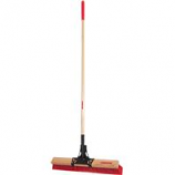 The Ames Company - Multi-Surface Broom - Red - 24In