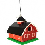 Songbird Essentials - Gordo Red Barn Birdhouse - 6.25X8X17
