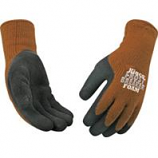 Kinco International - Frostbreaker Foam Latex Gripping Glove - Brown/Gray - Medium