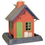 North States Industries - Village Collection Old Town Pub Birdfeeder - Red -