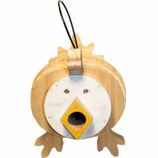 Welliver Outdoors - Welliver Stacks Chicken Bird House - White & Natural -