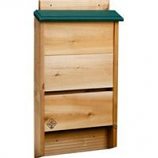Welliver Outdoors - Bat House Cedar - Natural/Green - 3.25X14X24