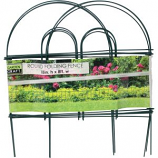 Garden Zone Llc - Round Folding Fence - Green - 18X8