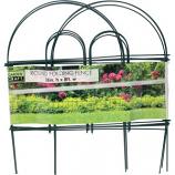 Garden Zone Llc - Round Folding Fence - Green - 18X8
