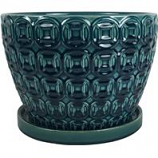Southern Patio - Mayer Planter - Seafoam - 12 Inch