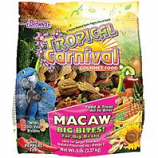 F.M. Browns - Pet - Tropical Carnival  Gourmet Macaw Big Bites Food - 5 Pound