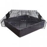 Rugged Ranch - The Squirrelinator Live Squirrel Trap With Basin - Black