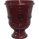 Southern Patio - Porter Urn - Oxblood - 15.5 Inch