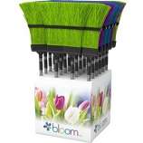 Bond Mfg - Bloom Aluminum Telescopic Broom - Assorted - 40-57 Inch