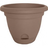 Bloem  - Lucca Planter - Chocolate - 8 Inch
