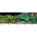 Blue Ribbon Pet Products - Background Double-Sided Tropical Freshwater - 24In X 50Ft