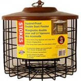 Classic Brands - Wb - Stokes Squirrel Proof Double Suet Feeder - Brown -