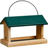 Welliver Outdoors - Open Air Feeder Cedar - Natural/Green - 13.5X7.5X9.5